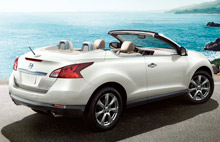 NISSAN MURANO CABRIOLET 2015 rent a car IBIZA